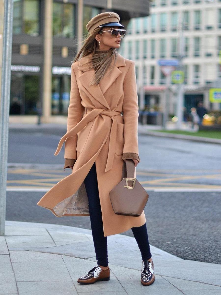 Пальто кашемировое Hayley