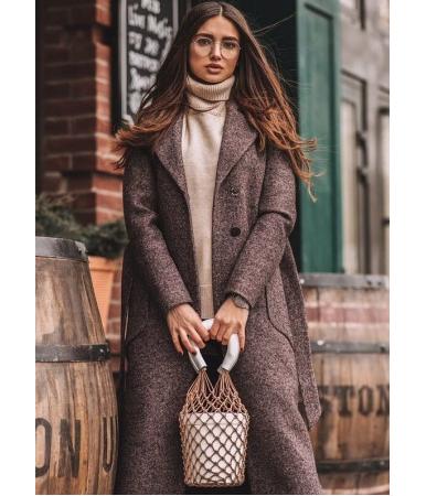 Пальто кашемировое YOLANDA
